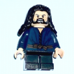 Lego The Hobbit  Thorin Oakenshield - Lake-town Outfit  minifigure @sold@